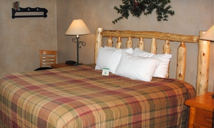 Manhattan Beach Lodge - Crosslake: $199 for Two-Night Wine-and-Dine Getaway at Manhattan Beach Lodge (Up to $418 Value)