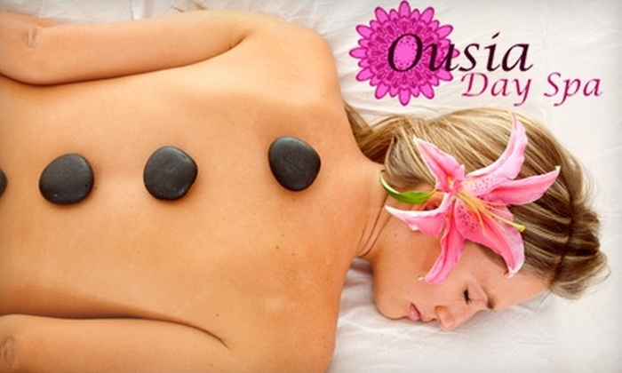 Ousia Day Spa - Multiple Locations: $40 for 60-Minute Relaxation Massage at Ousia Day Spa ($89 Value)