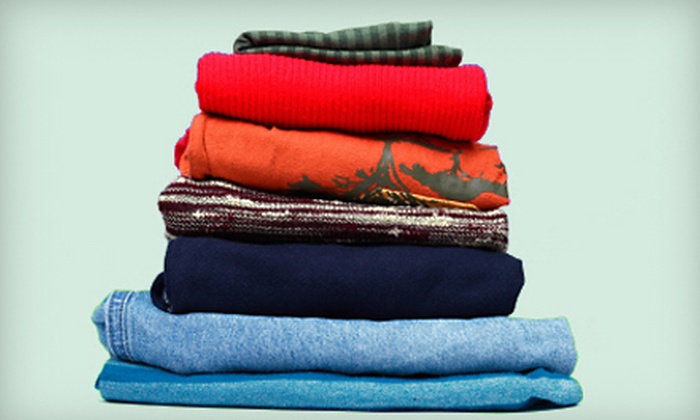 The Laundry Lady - Roswell: One or Four Weeks of Wash-and-Fold Services from The Laundry Lady (Up to 86% Off)