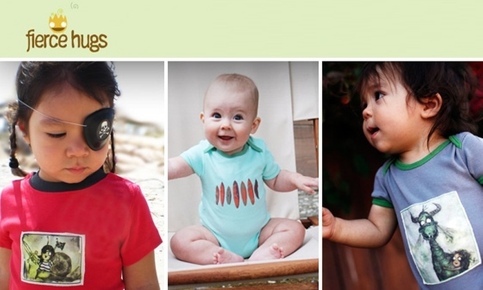 Fierce Hugs - Los Angeles: $30 for $60 Worth of Organic Baby Clothes from Fierce Hugs