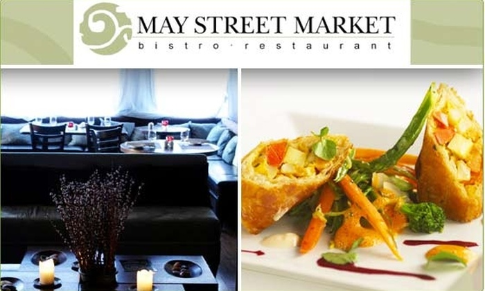 May Street Market Restaurant - Goose Island: $25 for $50 Groupon to May Street Market
