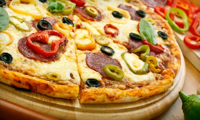 Trocadero Pizza & Steakhouse - Grandview-Woodland: Pizza Dinner for Two or Four or $15 for $30 Worth of Italian and Greek Fare at Trocadero Pizza & Steakhouse