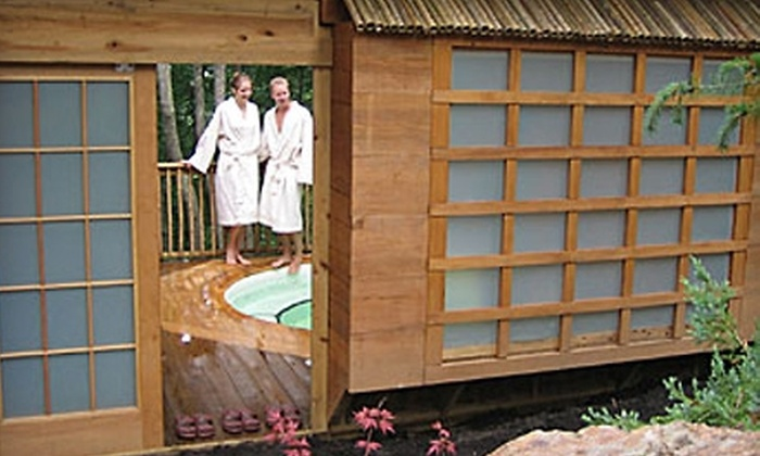 Shoji Retreat - Asheville: $72 for a Two-Hour Private Spa-Tub Pass for Two at Shoji Retreat ($144 Value)