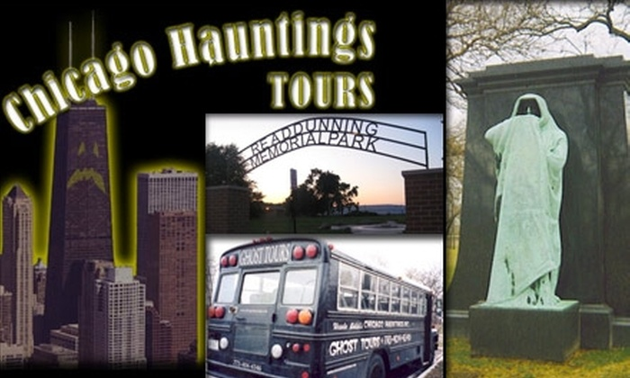 Chicago Hauntings Ghost Tour - Near North Side: $14 for One Ticket to Chicago Hauntings Ghost Tour ($28 Value). Buy Here for Adult Tickets. See Below for $10 Children's Tickets.