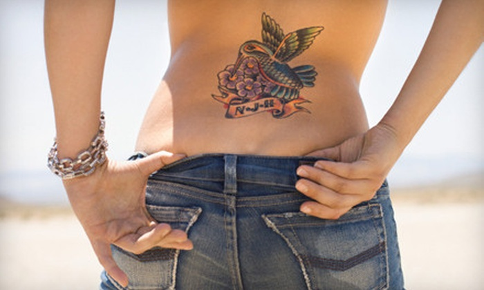 Precision Laser Tattoo Removal - Downtown Toronto: $49 for Up to 9 Square Inches of Tattoo Removal at Precision Laser Tattoo Removal (Up to $228 Value)