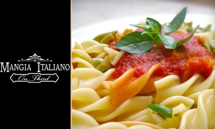 Mangia Italiano on Third - Downtown Chula Vista: $10 for $25 Worth of Italian Fare at Mangia Italiano On Third in Chula Vista