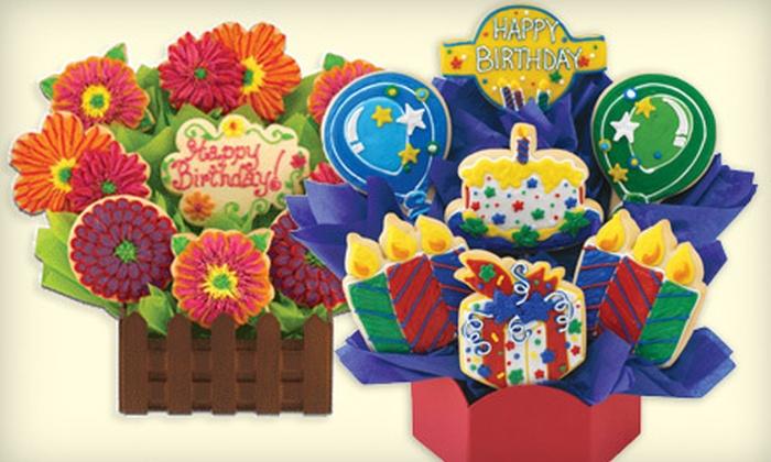 Cookies By Design San Diego - Santee: $10 Toward Custom Cookie Bouquets