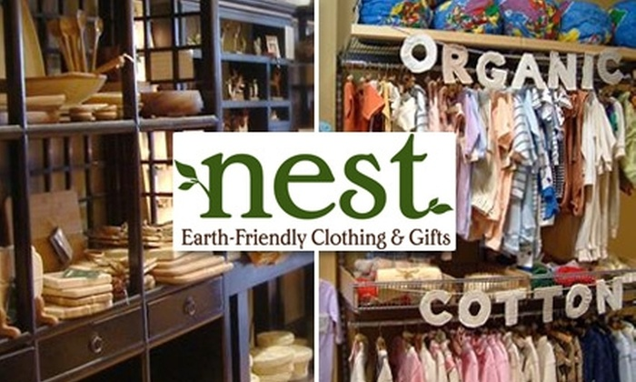 Nest - 5, Clarksville: $25 for $50 Worth of Earth-Friendly Wares at Nest