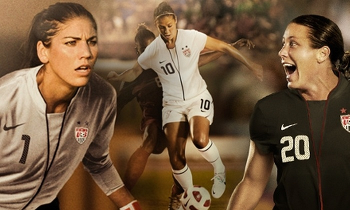 U.S. Women's National Soccer Team - Harrison: $40 for Two Sideline Tickets to the USA vs. Mexico FIFA Women's World Cup Send-Off Game on June 5 ($80 Value)