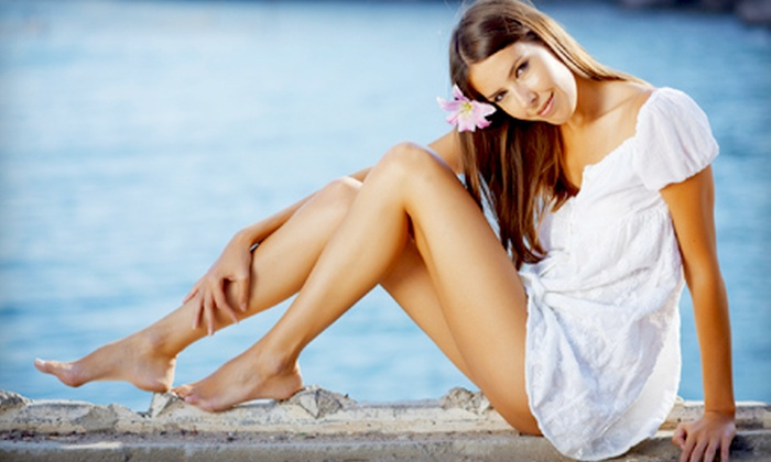 Jakes Aesthetics - Mid-City: $99 for Two Spider-Vein Laser Treatments at Jakes Aesthetics ($230 Value)
