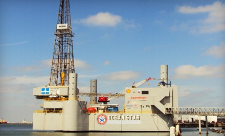 2 Adult Admissions (up to a $16 total value) - Ocean Star Offshore Drilling Rig Museum and Education Center in Galveston