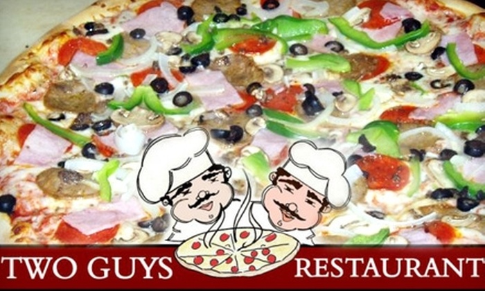 Two Guys Restaurant - University: $10 for $22 of American and Italian Fare at Two Guys Restaurant