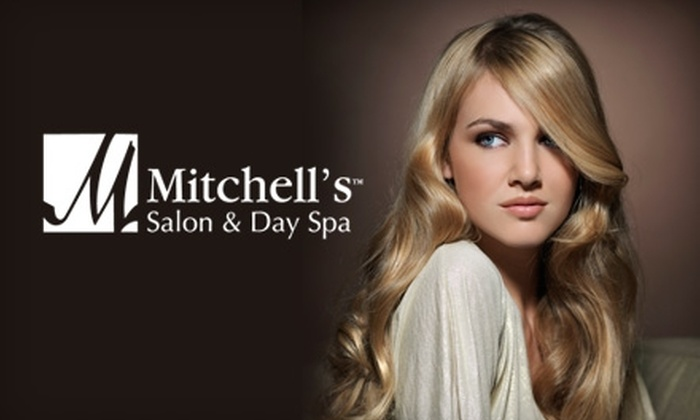Mitchell's Salon & Day Spa - Multiple Locations: $70 for a Foil Highlight with Haircut and Finished Design at Mitchell's Salon & Day Spa ($140 Value)