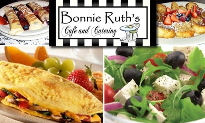 Bonnie Ruth's Cafe & Catering - Lake Highlands: $10 for $20 Worth of Café Cuisine at Bonnie Ruth's Café