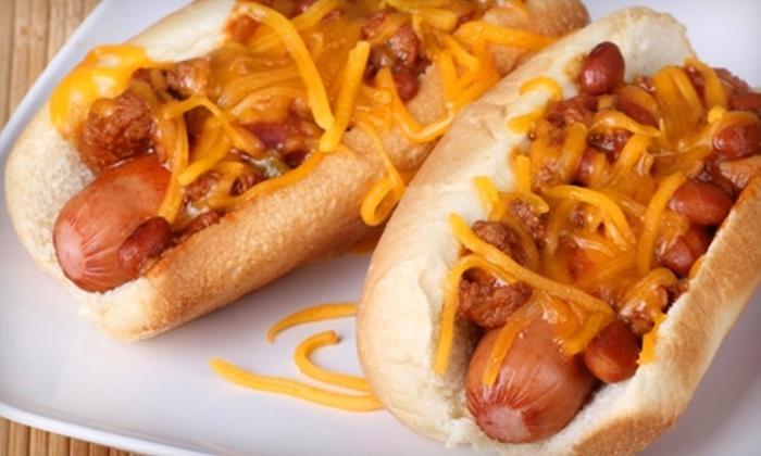 Rawley's Drive Inn - Fairfield: $4 for $8 Worth of Hot Dogs, Burgers, and Shakes at Rawley's Drive Inn