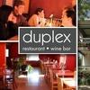 55% Off at Duplex Restaurant & Bar