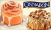 $10 for Baked Goods at Cinnabon