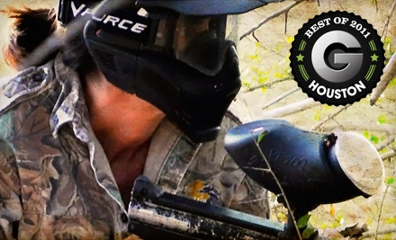 Paintball Outing for 2 People (a $60 value) - Paintball Bonanza Houston in Houston