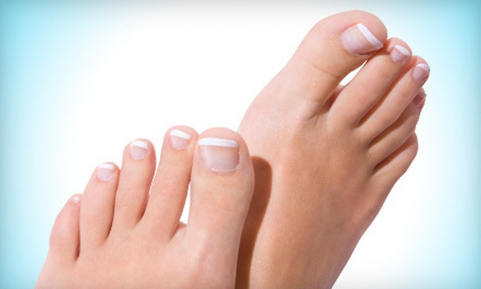 Advanced Footcare - Miami: $299 for Laser Nail-Fungus Treatment Package with Follow-Up Visits at Advanced Footcare (Up to $795 Value)