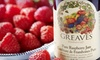 $10 for $20 Worth of Jams, Jellies, Marmalades, and More at Greaves Jams & Marmalades