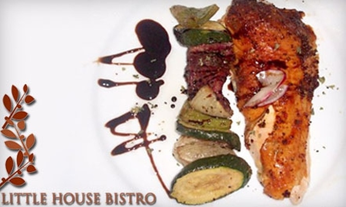 Little House Bistro - Bienville: $15 for $30 Worth of Southern Dinner Fare at Little House Bistro (or $7 for $15 Worth of Lunch Fare)