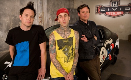 Ticketmaster: blink-182 at MTS Centre on Thu., Aug. 25 at 7PM: 300-Level Seating - blink-182 in Winnipeg