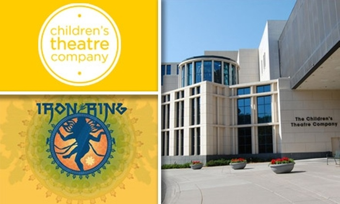 "The Children's Theatre Company - Whittier: $18 for One Adult Ticket to ""Iron Ring"" by the Children's Theatre Company ($35.50 Value). Buy Here for Friday, March 19, at 7:30 p.m., Sunday, March 21, at 5 p.m., or Wednesday, March 24, at 7 p.m. Click Below for Other Dates, Times, and Prices."