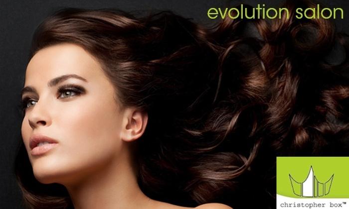 Evolution Salon Featuring Christopher Box - Oak Lawn: $50 for $100 Worth of Salon Services at Evolution Salon