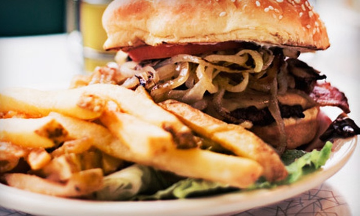The PrimeBurger - Midtown: James Beard Award-Winning Burger Meals with Fries and Shakes for Two or Four at The PrimeBurger (Up to 61% Off)