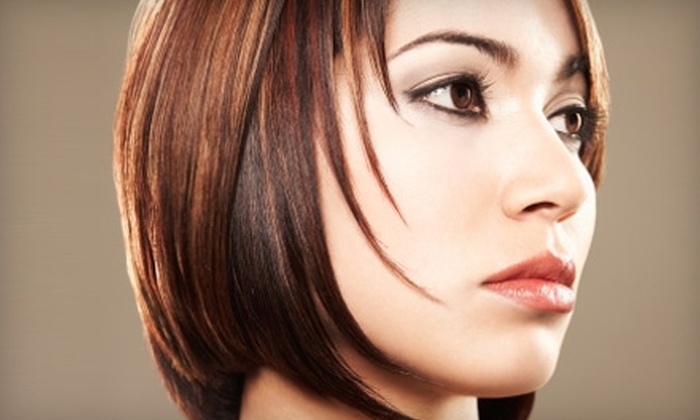 Coiffureous George Hair Studio - Richmond: $25 for Cut and Style, Plus a Paul Mitchell Awapuhi Wild Ginger Treatment, at Coiffureous George Hair Studio ($65 Value)