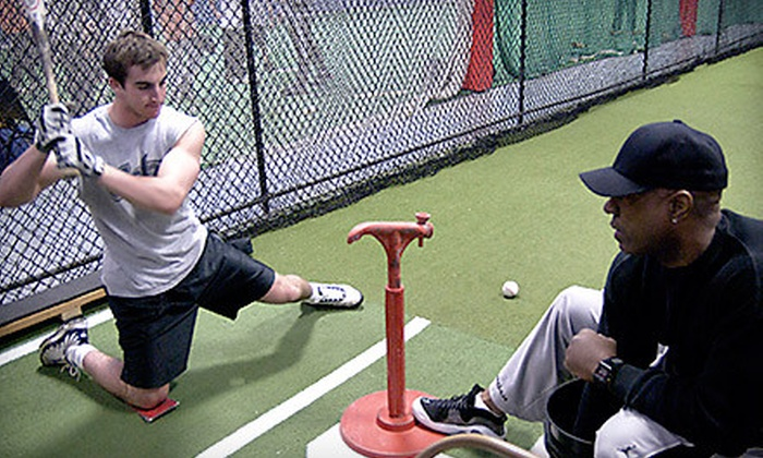 Matt Guiliano's Play Like a Pro - Hauppauge: Batting Cage Outing or L-Screen Rental at Matt Guiliano's Play Like a Pro in Hauppauge (Up to 62% Off)