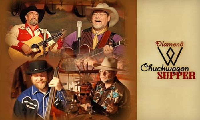 Diamond W Chuckwagon - Riverside: $15 for One Ticket to Dinner and a Show at The Diamond W Chuckwagon (Up to $30 Value)