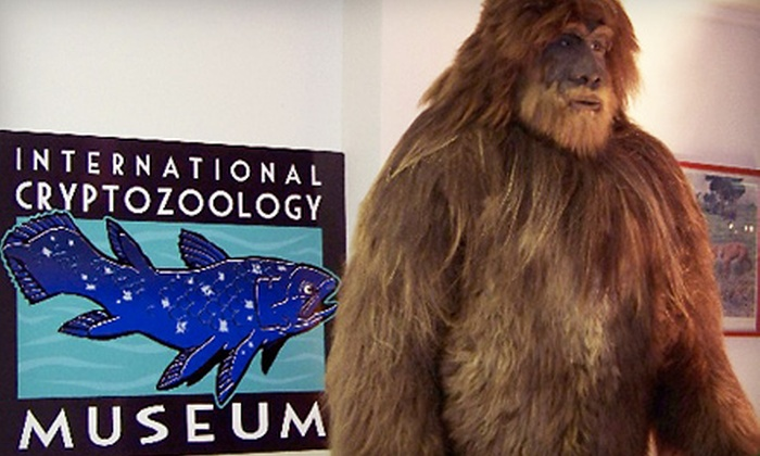 International Cryptozoology Museum - Downtown: Museum Outing for Two or Four or Individual or Family Membership to International Cryptozoology Museum (Up to 64% Off)