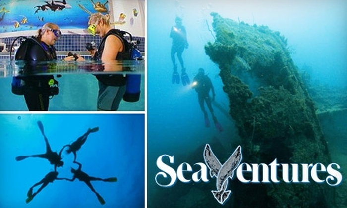 SeaVentures Aquatic Center - Rivermont: $10 for a Discover Scuba Class at SeaVentures ($39 Value)