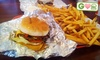 Home Run Burgers & Fries (4 locations) - Multiple Locations: $5 for $10 Worth of American Fare at Home Run Burgers & Fries
