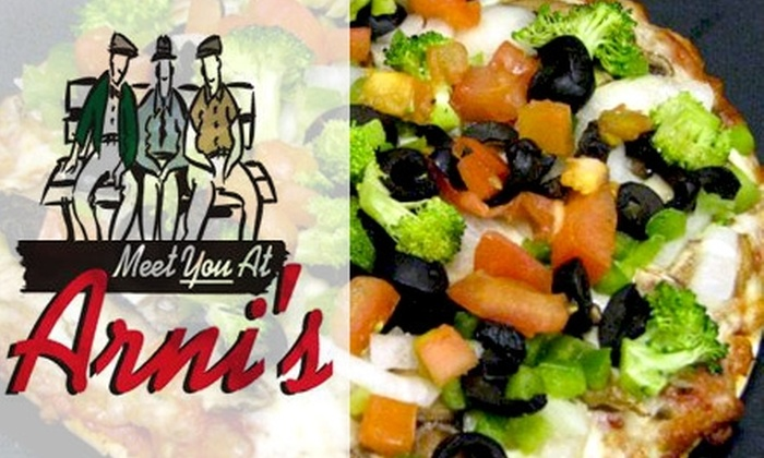 Arni's restaurant - Multiple Locations: $10 for $20 Worth of Pizzas, Salads, and More at Arni's Restaurant