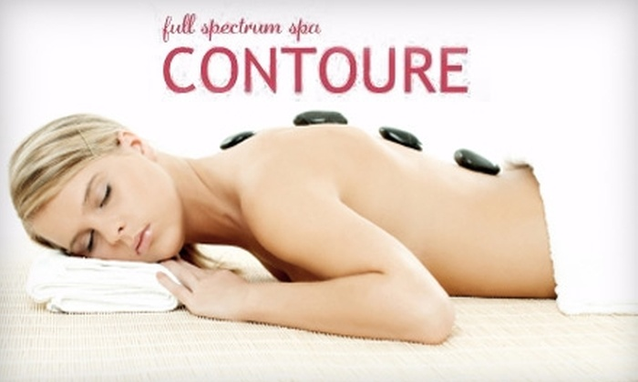 Contoure Full Spectrum Spa - Fort Wayne: $40 for a 60-Minute Hot Stone Massage at Contoure Full Spectrum Spa ($95 Value)