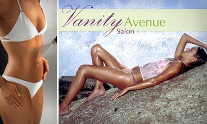 Vanity Avenue Spa - Broadview Heights: $30 for Two Full-Body Spray Tans at Vanity Avenue ($60 Value)