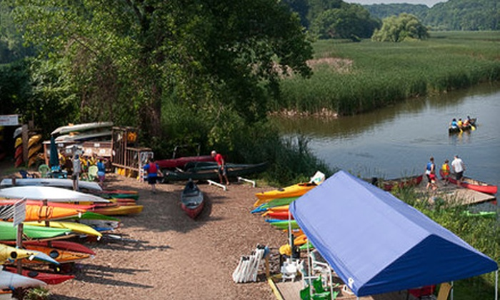 BayCreek Paddling Center - Rochester: $30 for a 90-Minute Standup Paddleboard Lesson Plus a One-Hour Paddleboard Rental from BayCreek Paddling Center ($61 Value)
