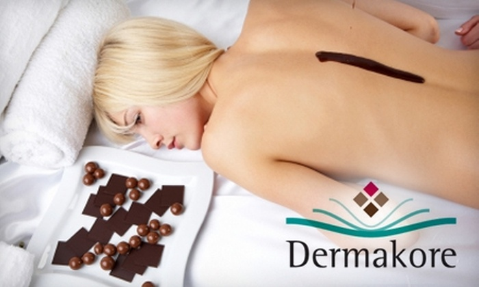 Dermakore: $25 for Chocolate Body-Wrap Home Spa Kit from Dermakore