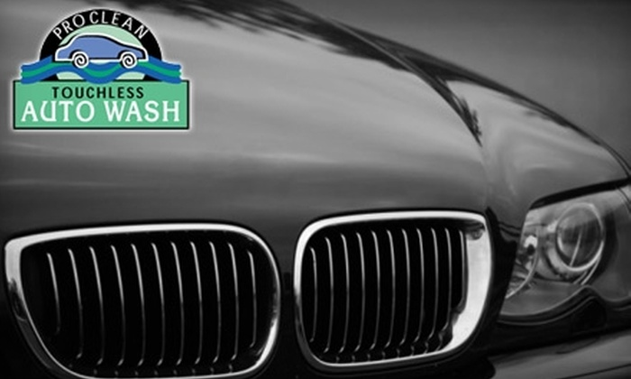 ProClean Auto Wash - Multiple Locations: $25 for a $50 Reusable Wash Card at ProClean Auto Wash