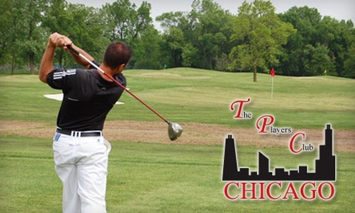 The Players Club of Chicago - Justice: Bucket of Balls with Either a Private Golf Lesson or a Bucket of Beers at The Players Club of Chicago in Justice