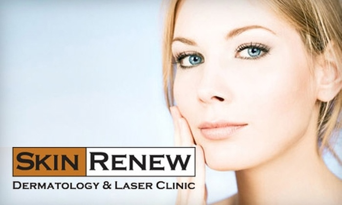 Skin Renew Dermatology & Laser Clinic - Brentwood: $99 for Three Laser Hair Removal Treatments at Skin Renew Dermatology & Laser Clinic (Up to $720 Value)