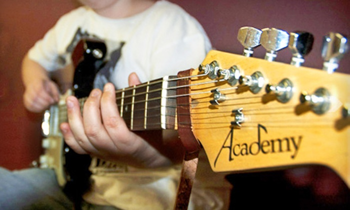 Huronia  Arts Academy - City Center: $25 for Two Guitar, Singing, or Violin Group Lessons at Huronia Arts Academy ($50 Value)