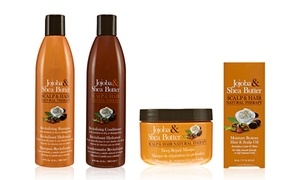Jojoba and Shea Butter Hair Therapy Kit (4-Piece) at Jojoba and Shea Butter Hair Therapy Kit (4-Piece), plus 6.0% Cash Back from Ebates.