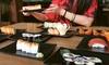 Buffet libre de comida japonesa