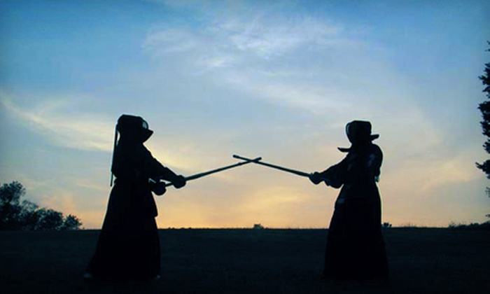 Kendo Academy Sungmoo - Multiple Locations: Kendo or Samurai-Sword Classes at Kendo Academy Sungmoo (Up to 63% Off). Three Options Available.