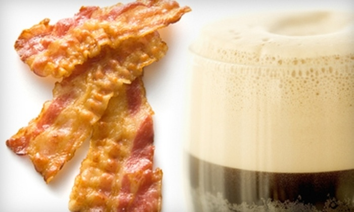 Paddy Long's Beer Pub - Lakeview: $20 for Beer and Bacon Tasting at Paddy Long's Beer and Bacon Pub ($36 Value)