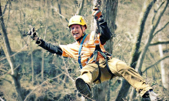 Zip Chicago - Zip Chicago: $149 for a Ziplining Adventure for Two at Zip Chicago in Marseilles ($298 Value)