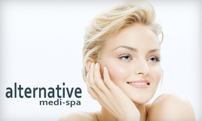 Alternative Medi-Spa - Multiple Locations: $49 for a Deep Pore-Cleansing Treatment ($150 Value) or Silk Peel Dermal Infusion ($125 Value) at Alternative Medi-Spa